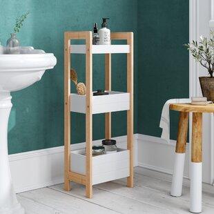 Goldenrod Bamboo 19 5 X 76cm Bathroom Shelf