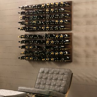 Alsace 25 Bottley Wall Mounted Wine Bottl..