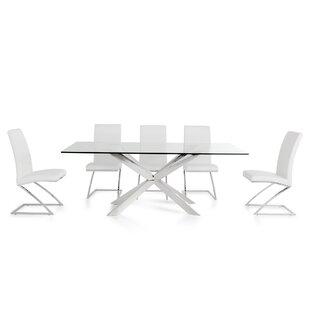 Althoff 7 Piece Dining Set by Orren Ellis