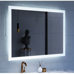 Orren Ellis Jaxson Hanging LED Lighted Vanity Mirror