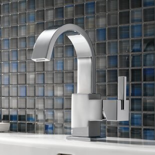 Delta Vero Single Hole Bathroom Faucet with Metal Pop Up Drain