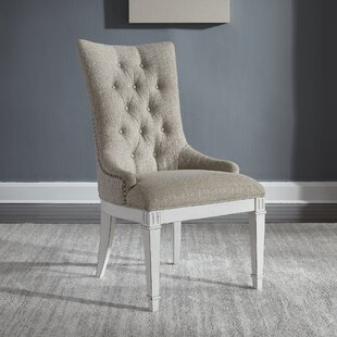 Jersey Upholstered Dining Chair (Set Of 2) by Ophelia & Co. Today Only Sale