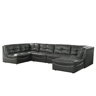 Ostby Contemporary Sectional with Ottoman