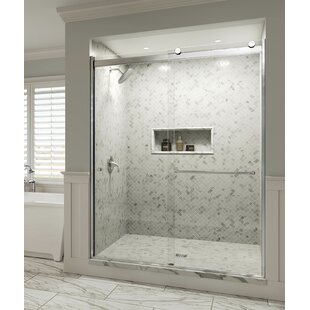 Basco Rotolo Bypass Semi-Frameless Shower Door