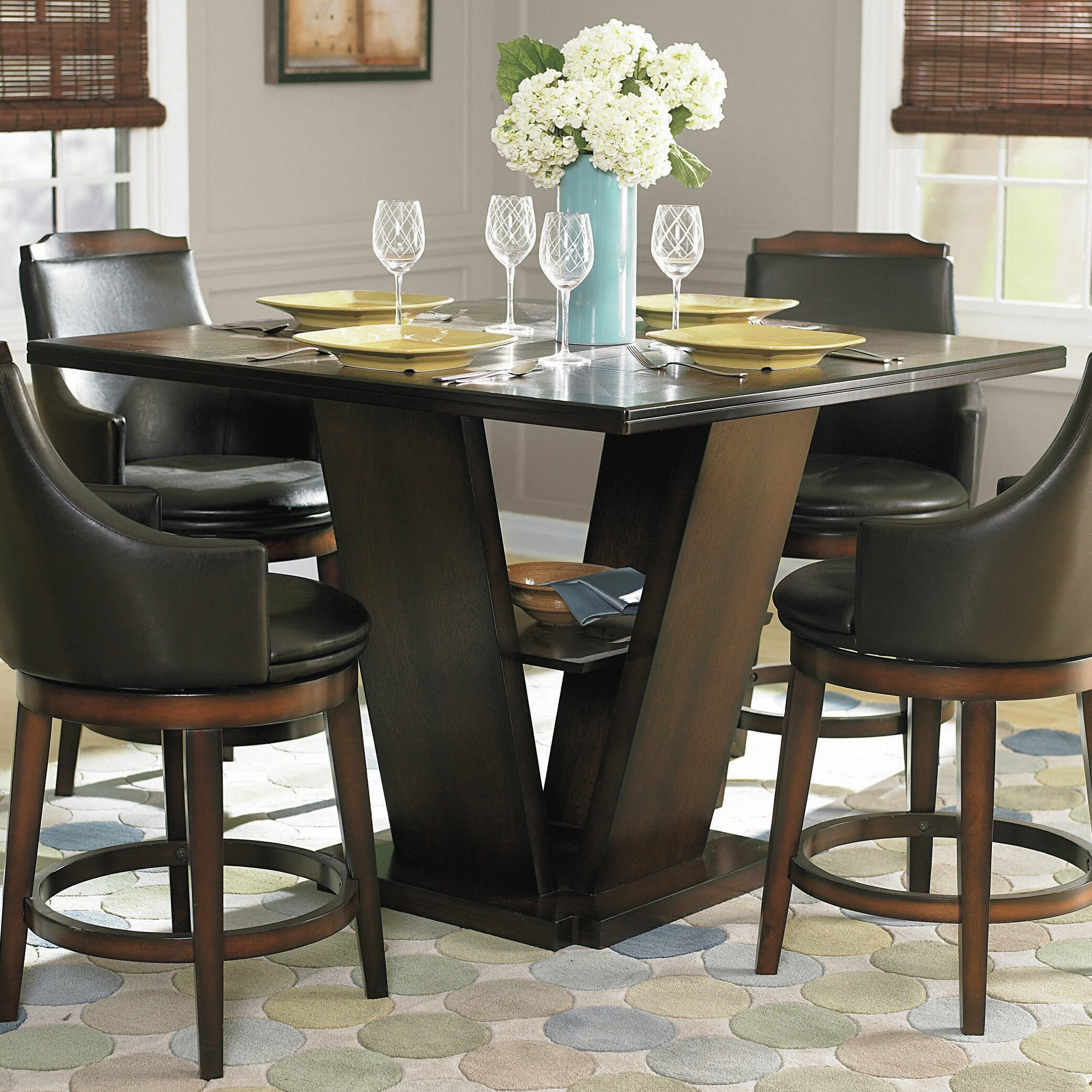 Three posts allenville counter height dining table wayfair
