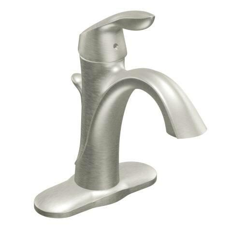moen eva single handle bathroom faucet & reviews | wayfair