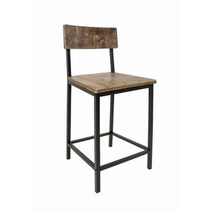 Williston Forge Burton Bar Stool (Set of 4)