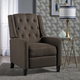 Lysander Fabric Recliner by Charlton Home