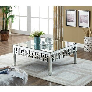 Best Choices Luong Mirrored Coffee Table By Everly Quinn