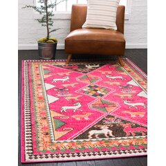 Mint Green And Pink Rug Wayfair