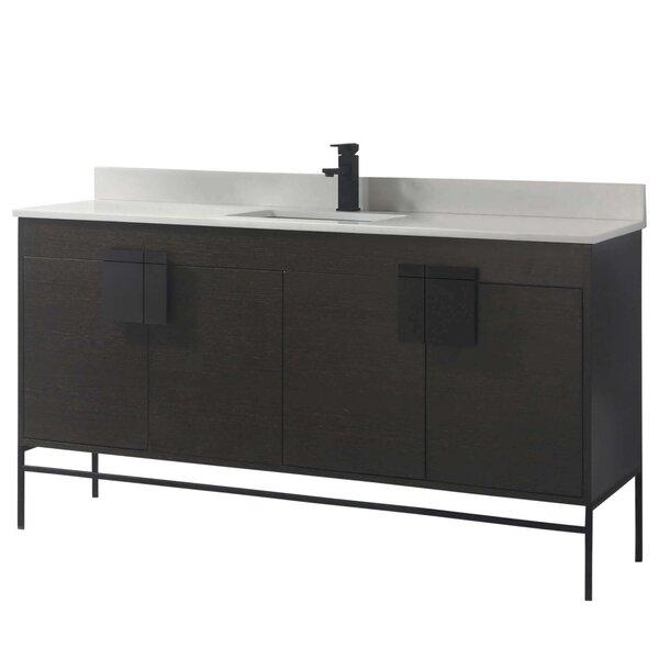 Allmodern Lee 60 Single Bathroom Vanity Set Wayfair