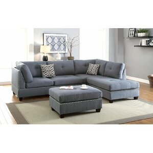 sc 1 st  Wayfair : gray sectional - Sectionals, Sofas & Couches