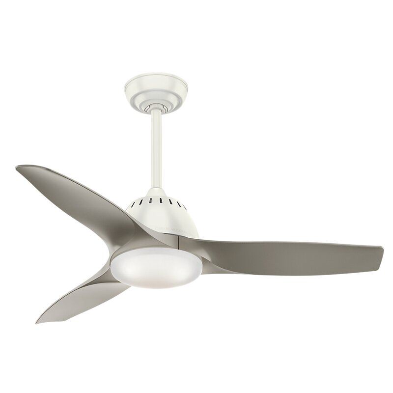 Casablanca fan 44 wisp 3 blade led ceiling fan with remote 44 wisp 3 blade led ceiling fan with remote mozeypictures
