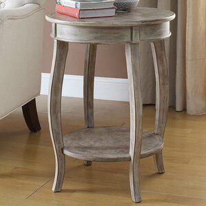 Grayson Round End Table by August Grove
