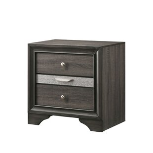 More 3 Drawer Nightstand