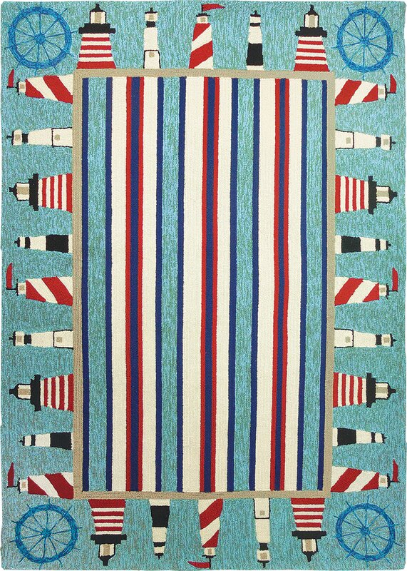 Homefires Lighthouse Brigade Area Rug from Wayfair!