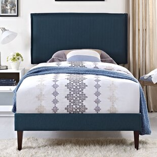 Winsett Upholstered Platform Bed by Turn on the Brights Modern