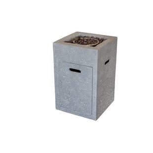 Concrete Propane Fire Column By Elementi