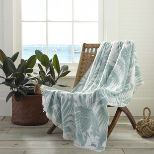 Desert Fronds Knit Throw