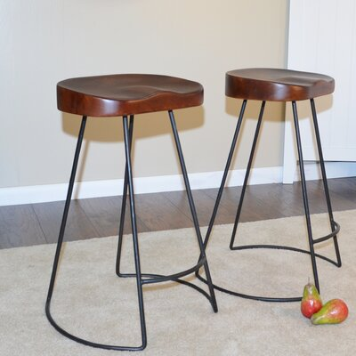 Backless Saddle Seat Counter Height Bar Stools You Ll Love