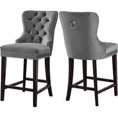 Swell Counter 24 27 Velvet Bar Stools Youll Love In 2019 Gmtry Best Dining Table And Chair Ideas Images Gmtryco