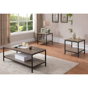 Bargain Hallett 3 Piece Coffee Table Set By Williston Forge
