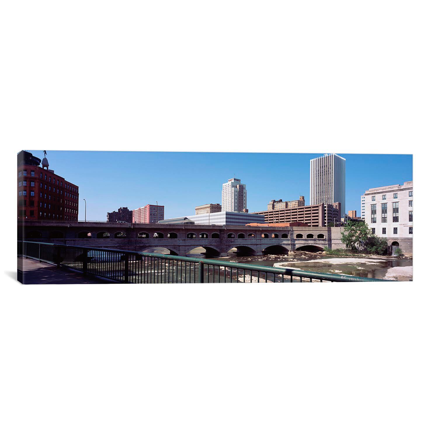 Bed Frames Rochester Ny: ICanvas Panoramic Bridge Across The Genesee River