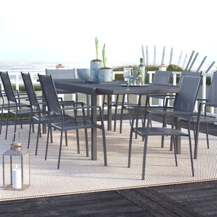 Wade Logan Balducci 11 Piece Dining Set