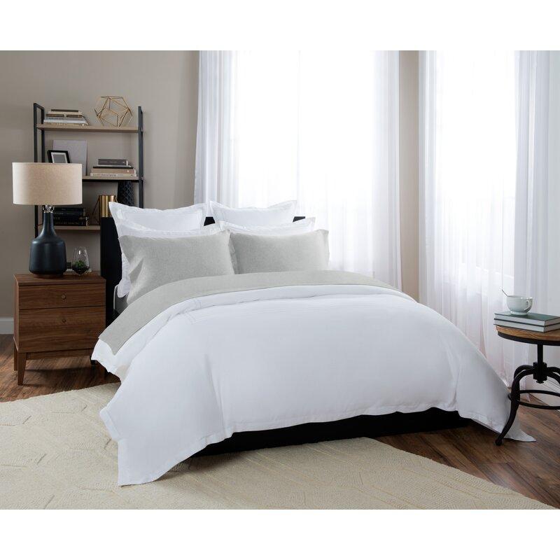 100% Cotton Heathered Jersey Sheet Set