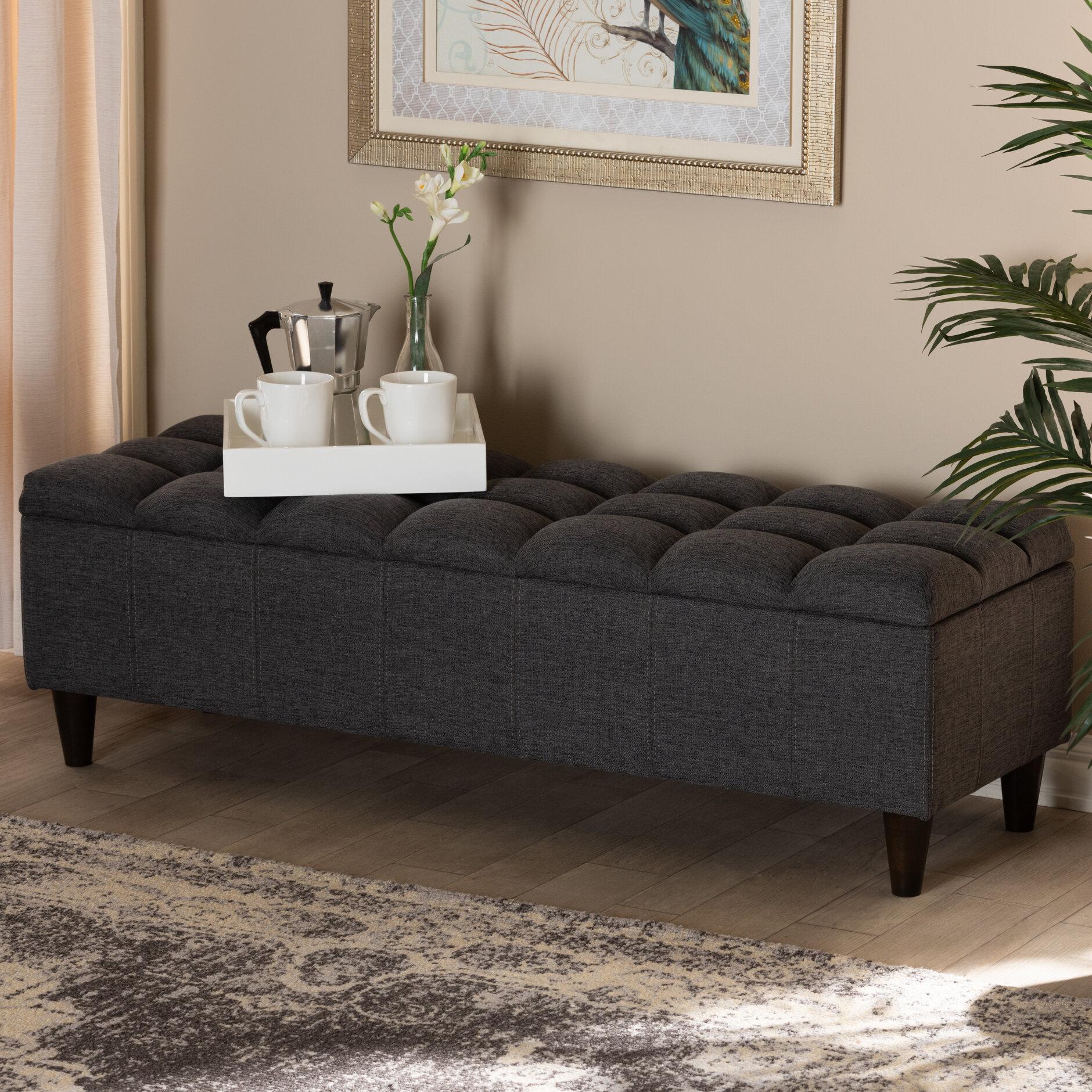 Quam Upholstered Storage Bench