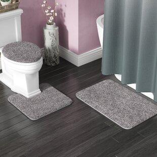 Bath Rug Sets You'll | Wayfair Elegant Flowers Design Bathroom Rug Set Html on