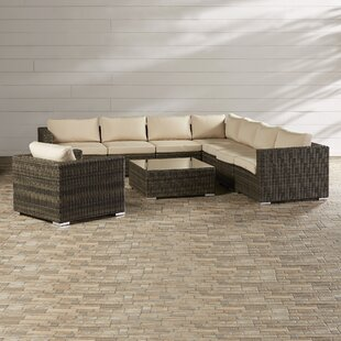 Hanning 9 Piece Group with Sunbrella Cushions