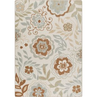 Affordable Mikole Ivory Garden Passage Rug By Winston Porter