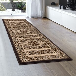 Check Prices Brown/Black Area Rug ByAllStar Rugs