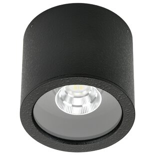 Coke 1-Light LED Outdoor Flush Mount By Sol 72 Outdoor