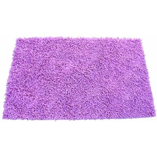 Chenille Hot Pink Area Rug byTache Home Fashion