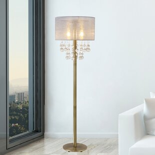 Compare prices Lefferts 61 Floor Lamp By Rosdorf Park