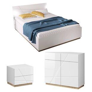 Venatici Queen Platform Configurable Bedroom Set by Orren Ellis