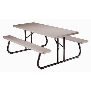 Kids Plastic/Resin Picnic Table by Lifetime