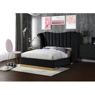 Cicero Upholstered Panel Bed