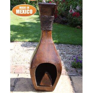 Clay Wood Burning Chimenea Image