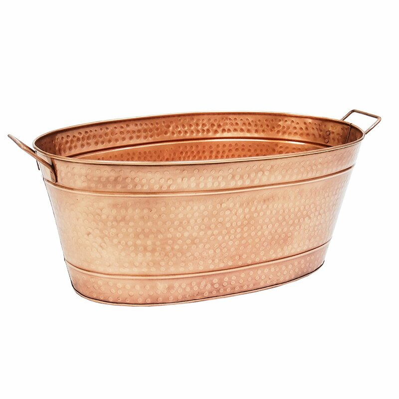 Charmant Netherfield Copper Beverage Tub