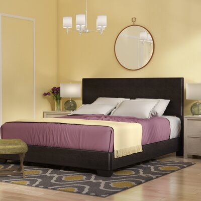 Sibilla Upholstered Panel Bed Andover Mills Size: California King