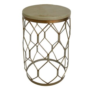 Aurora Barrel End Table by Fox Hill Trading