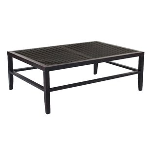 Purchase Talmage Classical Aluminum Coffee Table Best & Reviews