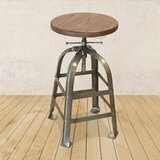 Metal Adjustable Height Swivel Bar Stool by Restaurant Products Guild