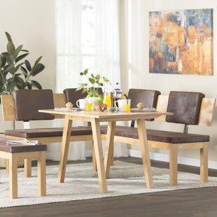 Brayden Studio Desouza 3 Piece Breakfast Nook Dining Set