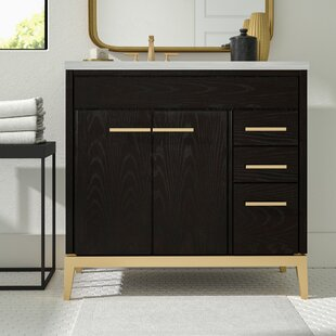 Buying Indianola 36 Single Bathroom Vanity Base Only By Greyleigh