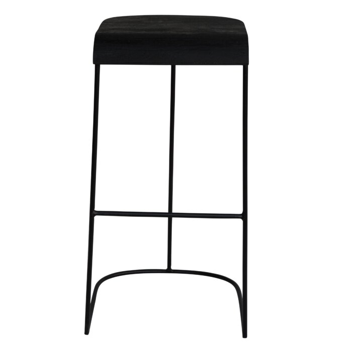 Enjoyable Purvis Iron And Wood 30 75 Bar Stool Alphanode Cool Chair Designs And Ideas Alphanodeonline