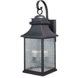 Czajkowski 3-Light Outdoor Wall Lantern by Charlton Home